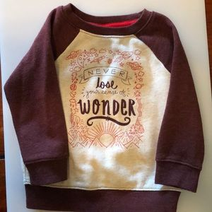 Other - 18 Months Cat & Jack sweatshirt